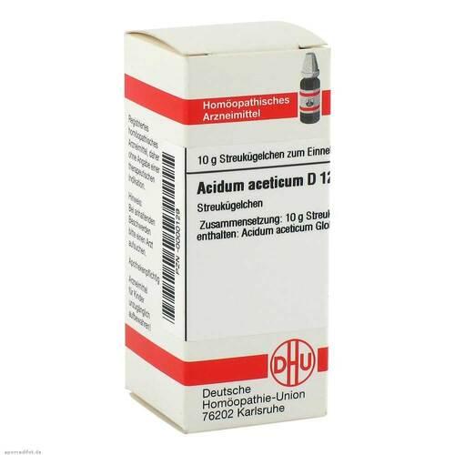 Acidum aceticum D 12 Globuli - 1