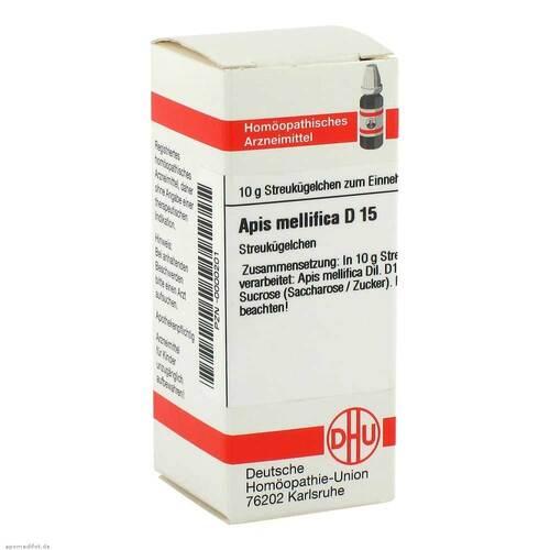 Apis mellifica D 15 Globuli - 1