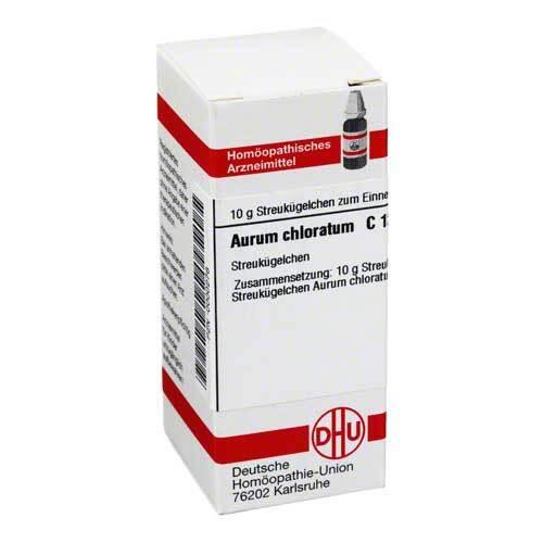 DHU Aurum chloratum C 12 Globuli - 1