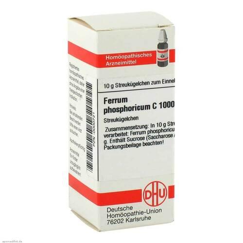 DHU Ferrum phosphoricum C 1000 Globuli - 1