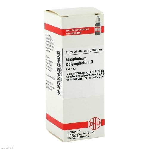 Gnaphalium polycephalum Urtinktur Dilution - 1