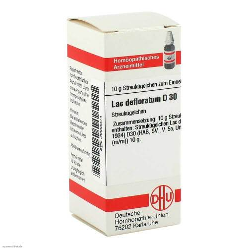 DHU Lac defloratum D 30 Globuli - 1