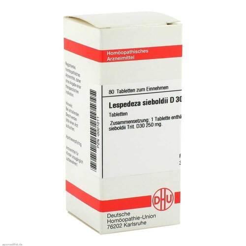 Lespedeza sieboldii D 30 Tabletten - 1