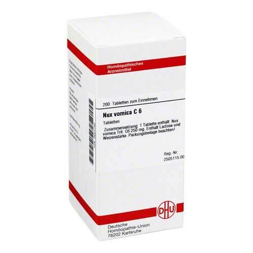 Nux vomica C 6 Tabletten - 1