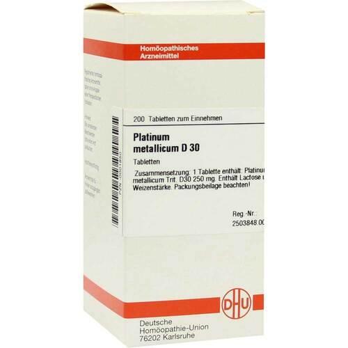 Platinum metallicum D 30 Tabletten - 1