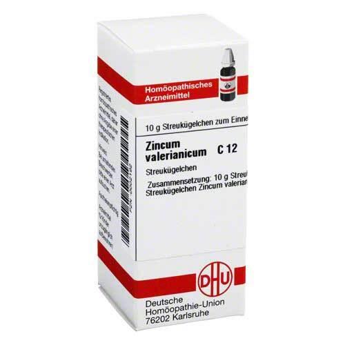 DHU Zincum valerianicum C 12 Globuli - 1