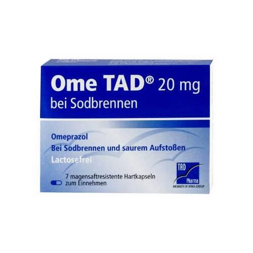 Ome TAD 20 mg b.Sodbrennen Hartkapseln magensaftresistent - 1