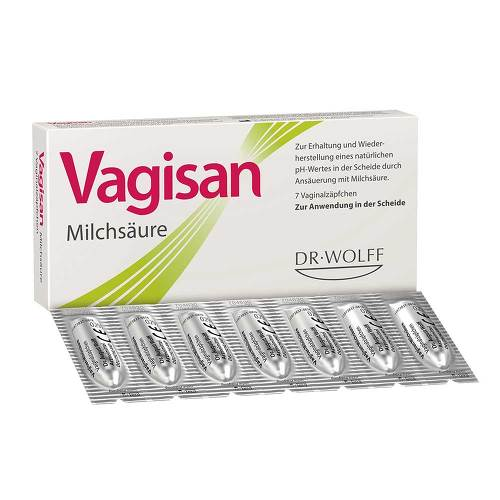 PZN 00003435 Vaginalsuppositorien, 7 St