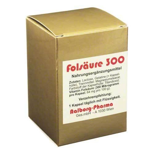 Folsäure 300 µg Kapseln - 1