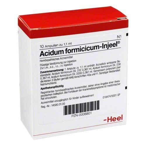 Acidum formicicum Injeel Ampullen - 1