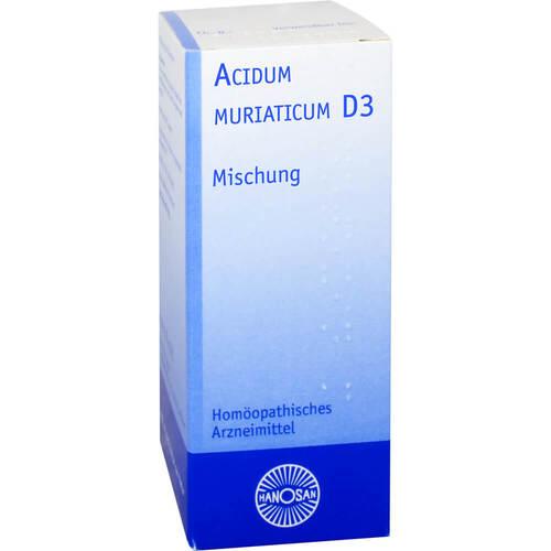 Acidum muriaticum D 3 Hanosan Dilution - 1