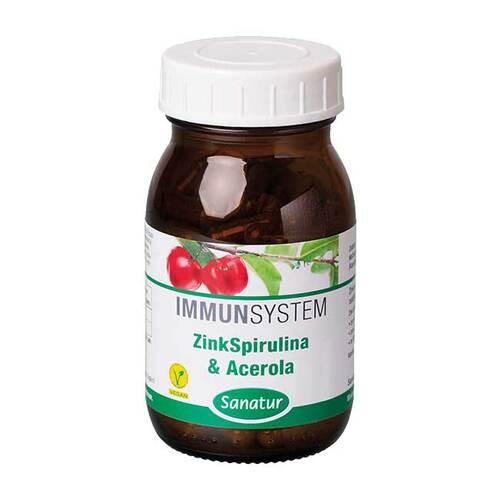 Zinkspirulina & Acerola Kapseln - 1