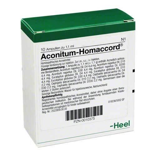 Aconitum Homaccord Ampullen - 1