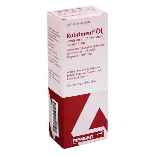 Rubriment Öl - 1