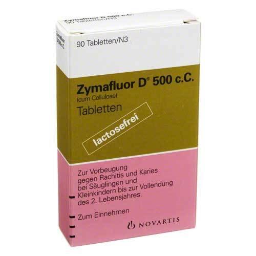 Zymafluor D 500 C C Tabletten - 1