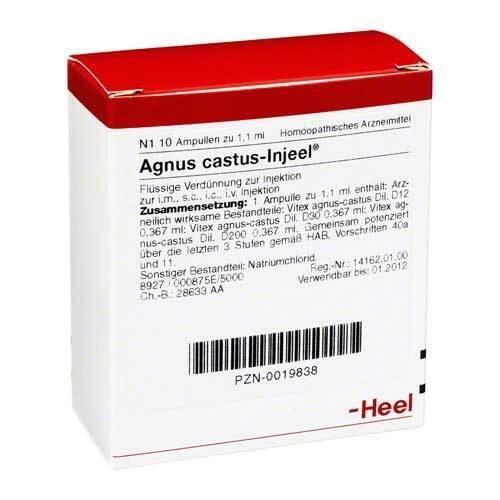 Agnus castus Injeel Ampullen - 1