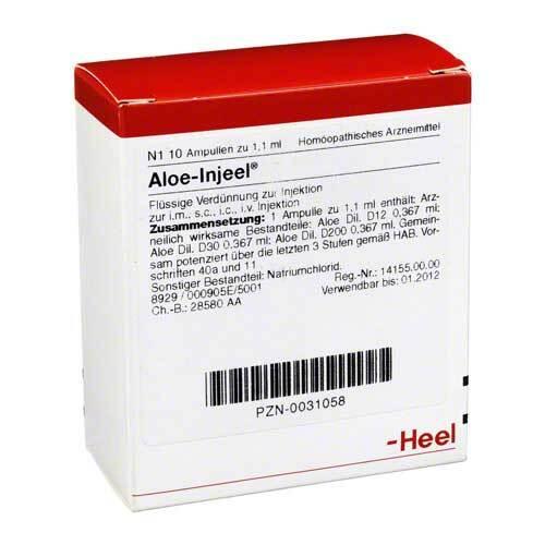 Aloe Injeel Ampullen - 1