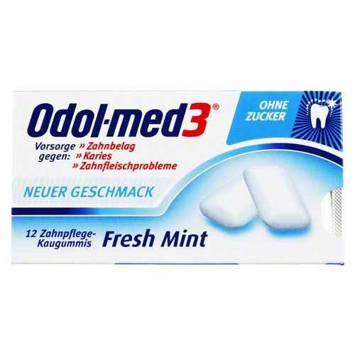 ODOL Med 3 Fresh Mint Kaugummi - 1