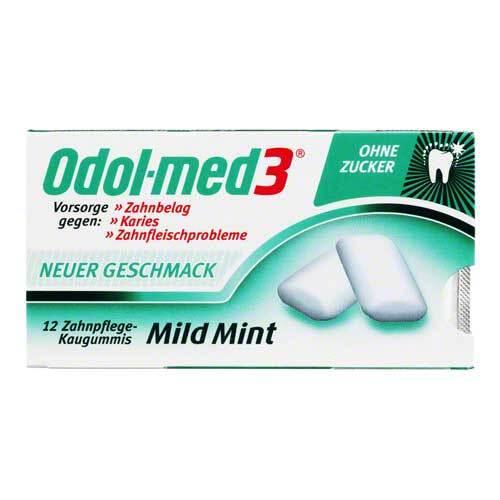 ODOL Med 3 Mild Mint Kaugummi - 1