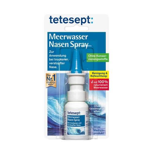 Tetesept Meerwasser Nasenspray - 1