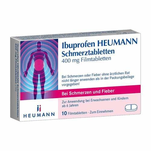 Ibuprofen Heumann Schmerztabletten 400 mg - 1