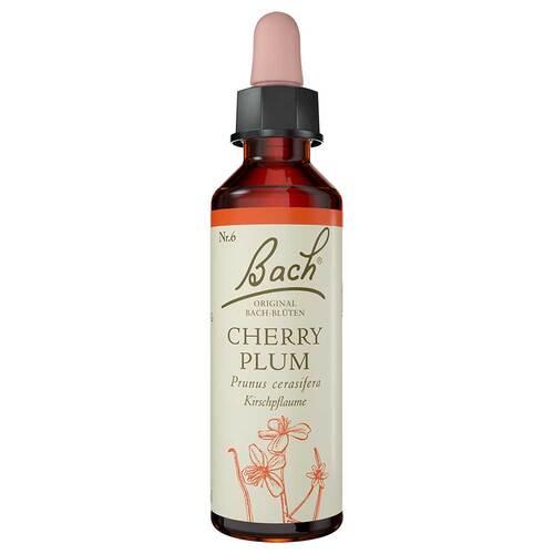 Bachblüten Nr. 6 Cherry Plum Tropfen - 1