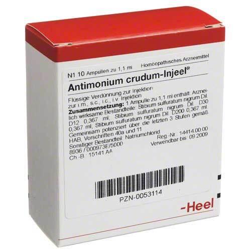 Antimonium crudum Injeel Ampullen - 1