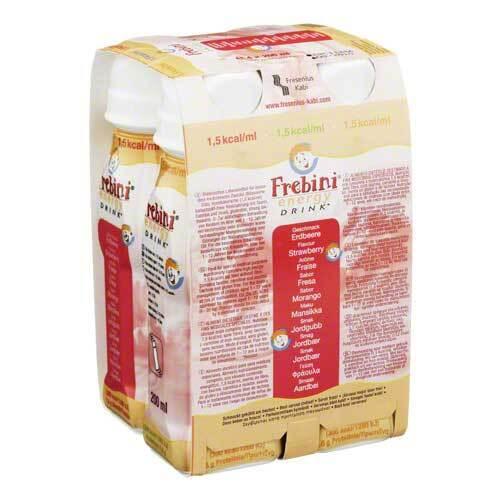 Frebini Energy Drink Erdbeere Trinkflasche - 1