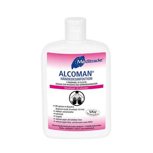 Alcoman Händedesinfektion Lösung - 1