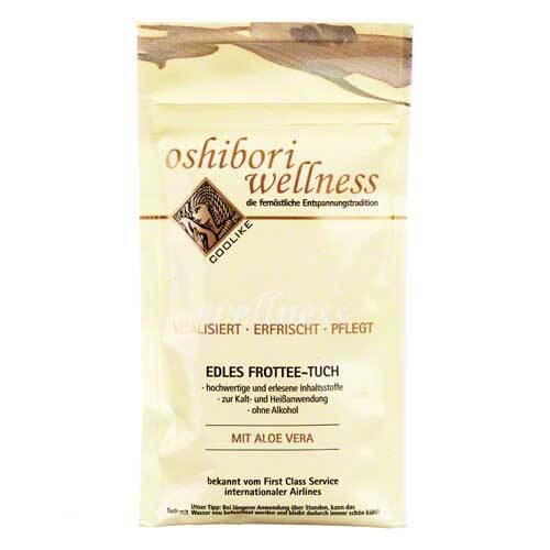 Oshibori Wellness Tuch die fernöstliche Entspannungstradition - 1