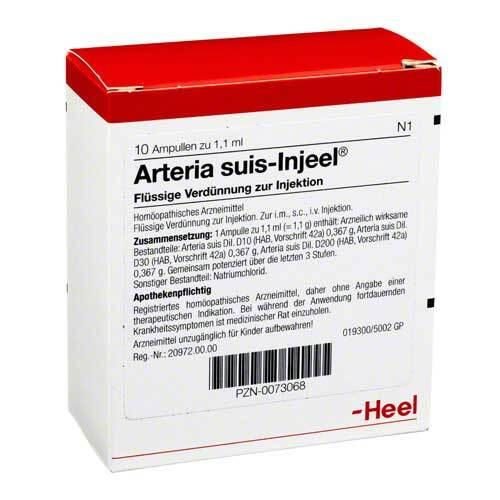Arteria Suis Injeel Ampullen - 1