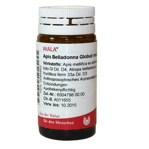 Apis Belladonna Globuli vela - 1