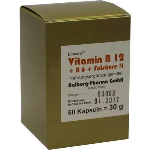 Vitamin B12 + B6 + Folsäure Komplex N Kapseln - 1