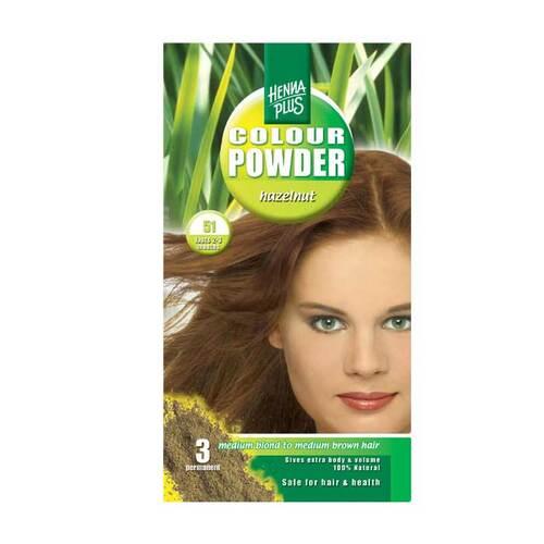 Hennaplus Colour Powder Hazelnut - 1