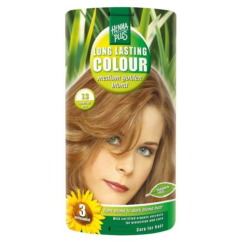 Hennaplus Long Lasting Medium Golden Blond - 1