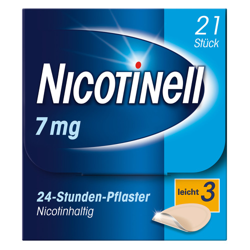 Nicotinell 7 mg 24-Stunden-Pflaster transdermal - 1