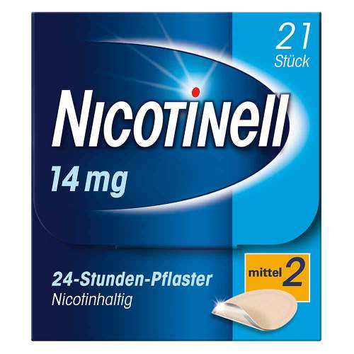 Nicotinell 14 mg 24-Stunden-Pflaster transdermal - 1