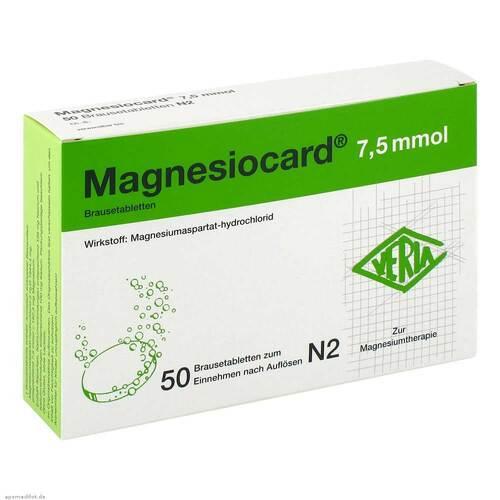 Magnesiocard 7,5 mmol Brausetabletten - 1
