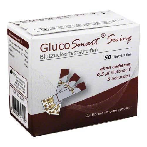 Glucosmart Swing Blutzuckerteststreifen - 1