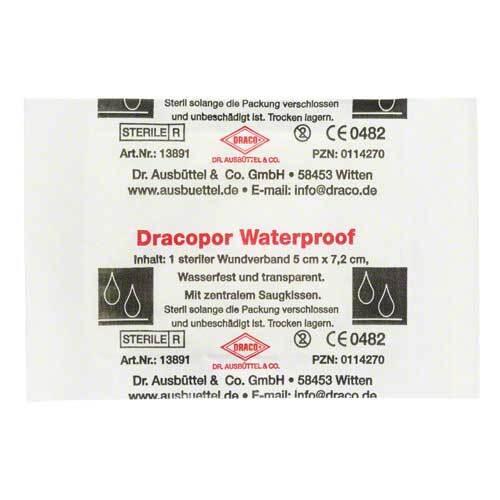 Dracopor waterproof Wundverb - 1