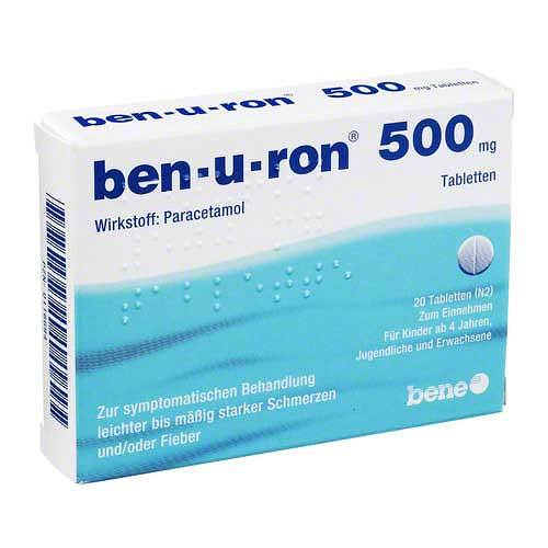 Ben-U-Ron 500 mg Tabletten - 1
