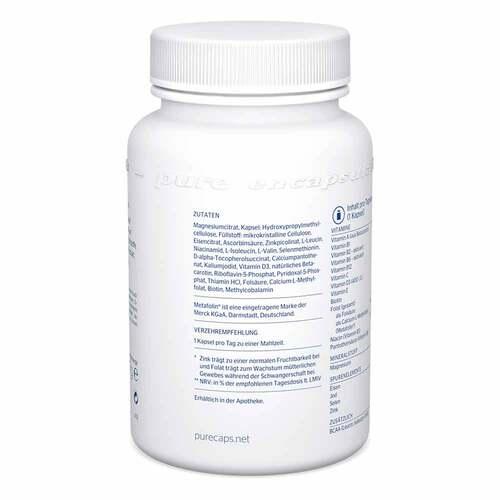 Pure Encapsulations Schwangerschafts-Formel Kapseln - 3