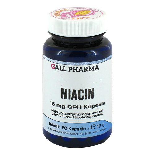 Niacin 15 mg GPH Kapseln - 1
