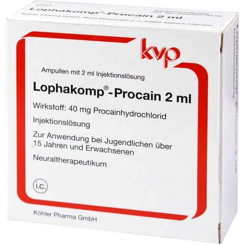 Lophakomp Procain 2 ml Injektionslösung - 1