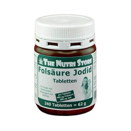 Folsäure 400 + Jod 200 Tabletten - 1