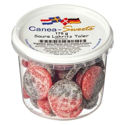 Saure Lakritz-Taler Bonbons - 1