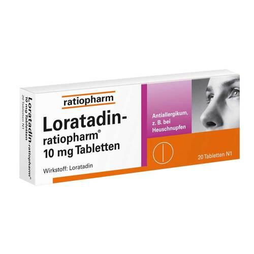 Loratadin ratiopharm 10 mg Tabletten - 1