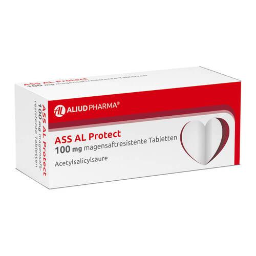 ASS AL Protect 100 mg magensaftresistent Tabletten - 1