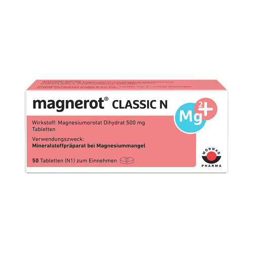 Magnerot Classic N Tabletten - 1