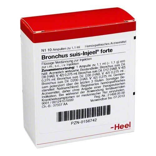 Bronchus suis Injeel forte Ampullen - 1